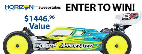 Horizon Hobby Sweepstakes - cars rc groups