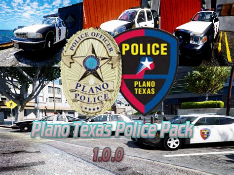 Plano Tx Arrest Records Plano Pack Gta5 Mods
