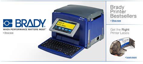 Brady Label Printer brady printers industrial scientific