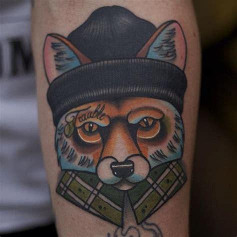 tattoo old school fox tatuagem bra 231 o new school raposa por mike stocklings