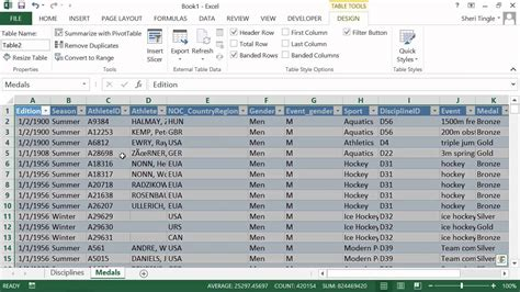 excel tutorial 2013 pivot table microsoft office excel 2013 tutorial importing data as a