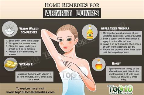 home remedies for armpit lumps swollen lymph nodes