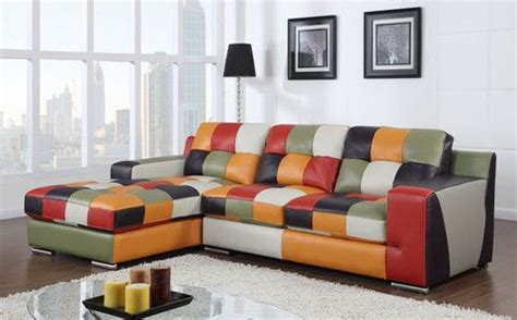multi color sectional sofa multi colored top grain leather sectional knox furniture