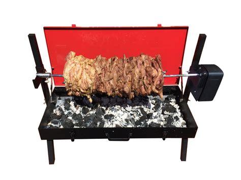 Mini Cart Bbq mini spit roaster bbq