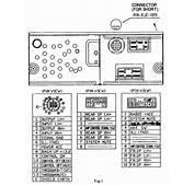 Car Audio Wire Diagram Codes Mazda  Factory Stereo
