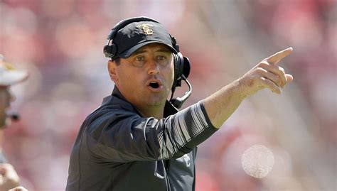 usc coach steve sarkisian called not healthy placed on usc coach says medication alcohol led to inappropriate
