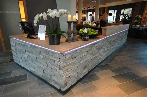 Granite Reception Desk Modern Reception Desk Slate Search Office