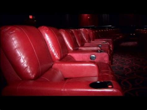 movies recliner seats movie theater recliners youtube