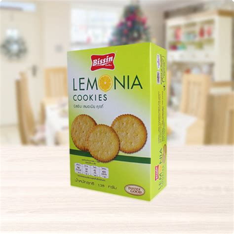 Nissin Lemonia Chocolate 130 Gr lemonia cookies