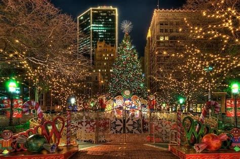 sundance square in beautiful downtown fort worth all