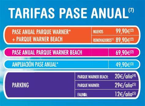 cuanto vale y donde refrendo el pase descubre nuestro nuevo pase anual parque warner beach