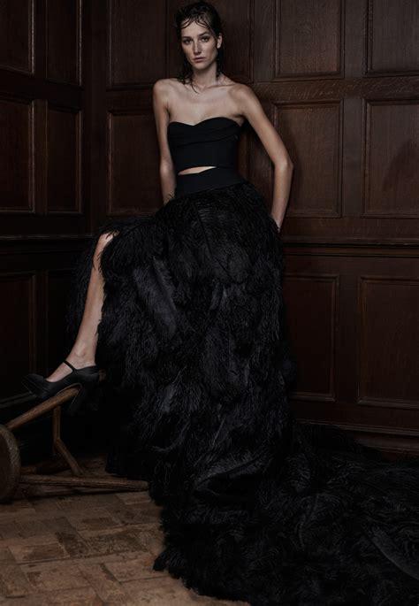 Longdress Sabrina Vera 30 of the most stunning black wedding dresses chic vintage brides