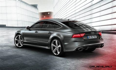 audi rs  moscow debut  updated leds extra