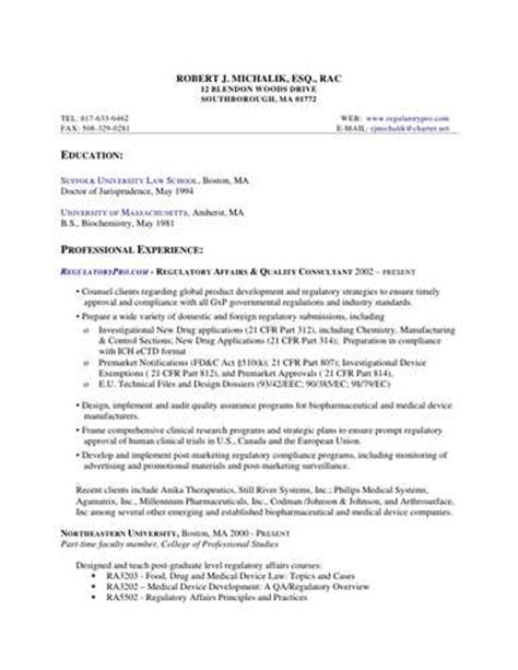 cover letter regulatory affairs pharmaceutical regulatory affairs cover letter