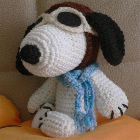 amigurumi snoopy pattern amigurumi pilot snoopy puppy dog crochet pattern christmas