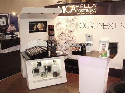Rak Acrylic Display 6 layar berdiri rak display akrilik kosmetik makeup meja