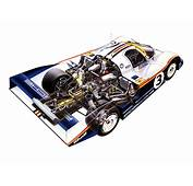 1983 Porsche 956 C Coupe Classic Race Racing Engine