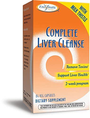 Can You Drink While Taking Liver Detox Tablets by Enzymatic Therapy Complete Liver Cleanse 84 Veg Capsules
