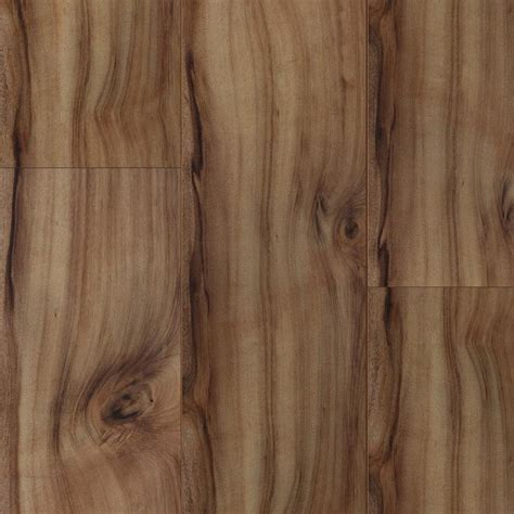 Shop Style Selections Natural Acacia 7.6 in W x 4.23 ft L