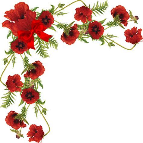 imagenes flores vectorizadas esquineros vectores de flores buscar con google