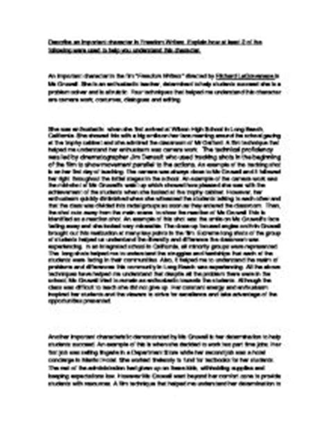 Uk Essay Writers by Freedom Writers Essay Sles Stonewall Services