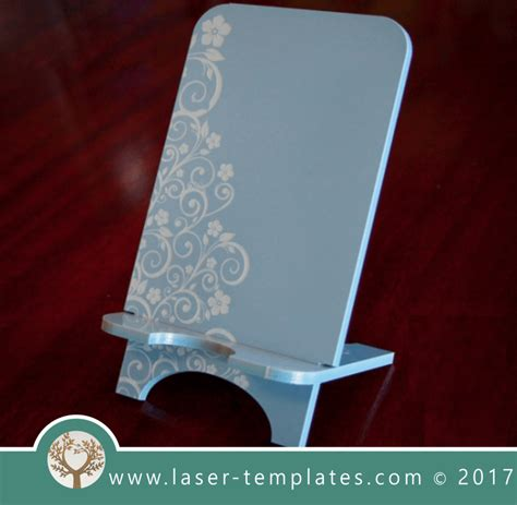 cell phone stand laser cut  engrave inspirational