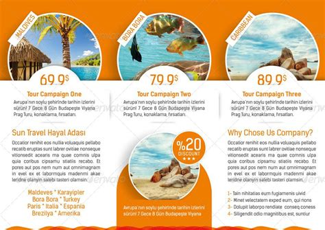30 best travel agency trifold brochure print templates frip in