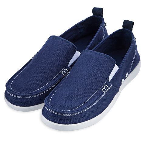 Sepatu Wanita Canvas Loafers Moccasins Casual fashion mens canvas slip on loafers moccasin casual flats driving walking shoes ebay