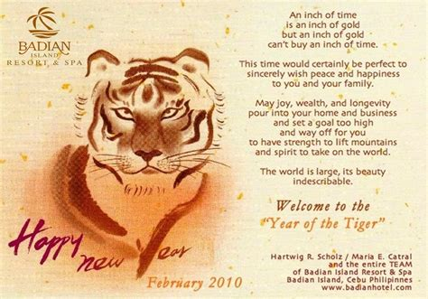 new year for year of the tiger image gallery happy new year 2010