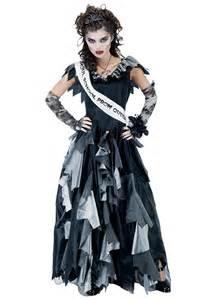 undead halloween costumes zombie prom queen costume