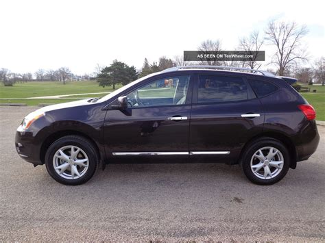 2011 nissan rogue sv awd 2 5l 4 cylinder estate