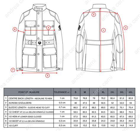 chart house ta belstaff size chart
