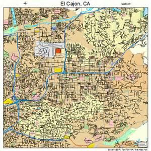 el cajon california map 0621712