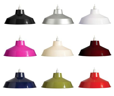 Metal Light Shades For Ceiling Lights 14 Quot Retro Metal Coolie Lshade Ceiling Light Pendant Shade Fitting Ebay
