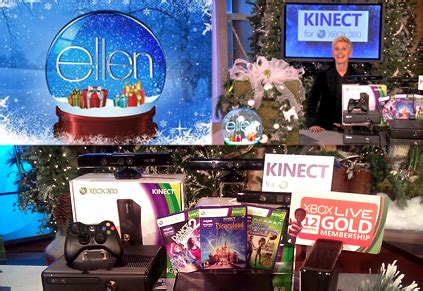Ellen Degeneres Show 12 Days Of Giveaways - microsoft front center on 12 days of ellen book spar website for students