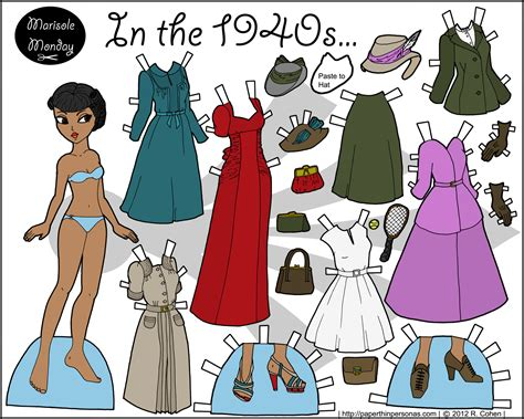 printable paper dolls marisole archives page 6 of 15 paper thin personas