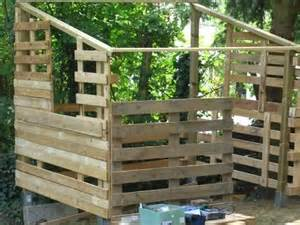 cabane pour enfant 224 faire avec des palettes cabanes