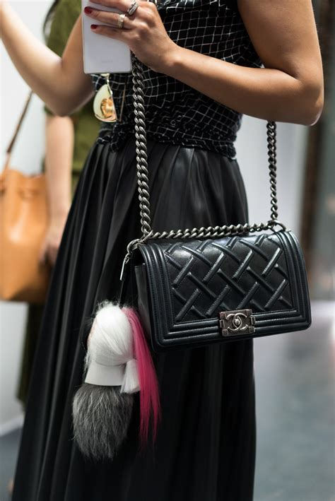 Fendi By The Way Autumn 2017 With Karlito Charms 7081 the best bags of new york fashion week 2015