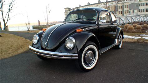 black volkswagen bug 1971 black standard vw beetle bug semi auto classic vw