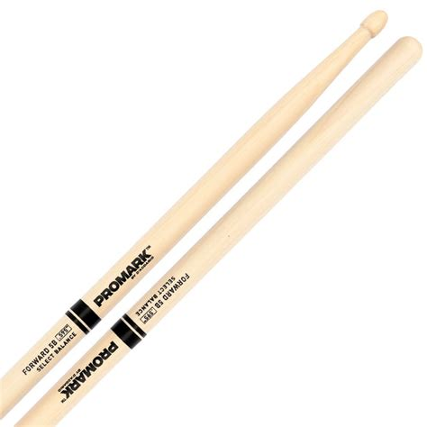 Stick Drum Muman American Hickory 5b promark forward 5b 595 quot hickory drumsticks with acorn wood tips