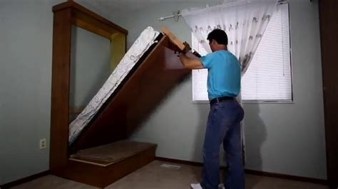 how to make a wall bed diy murphy bed youtube