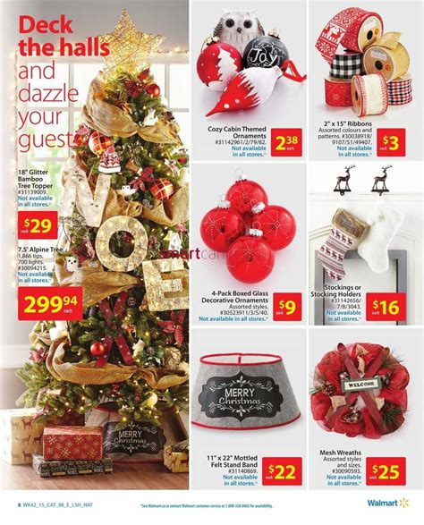 walmart decor catalogue november 12 to 25