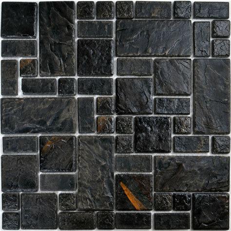 black and white ceramic wall tile backsplash for fabulous hand craft black porcelain wall tiles pcmt089 ceramic