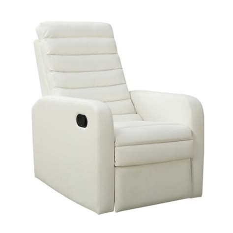 white glider recliner quilt back swivel glider leather recliner in white i8086wh