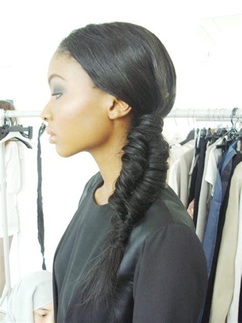 fishtail braid hair gallery curvy eco centric recessionista fabulous fishtail braids