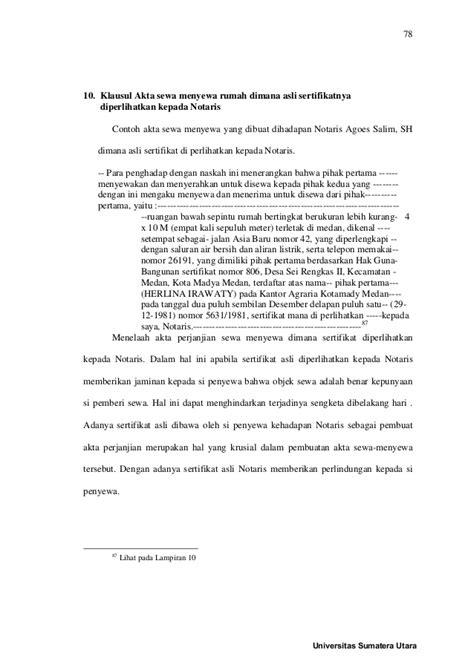 Buku Contoh Akta Notaris Dan Akta Di Bawah Tangan Buku Iii Herlinaar a perjanjian sewa menyewa