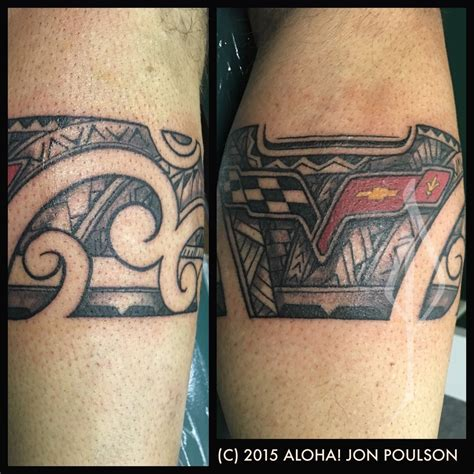 corvette tattoo designs aloha salt lake tattoos