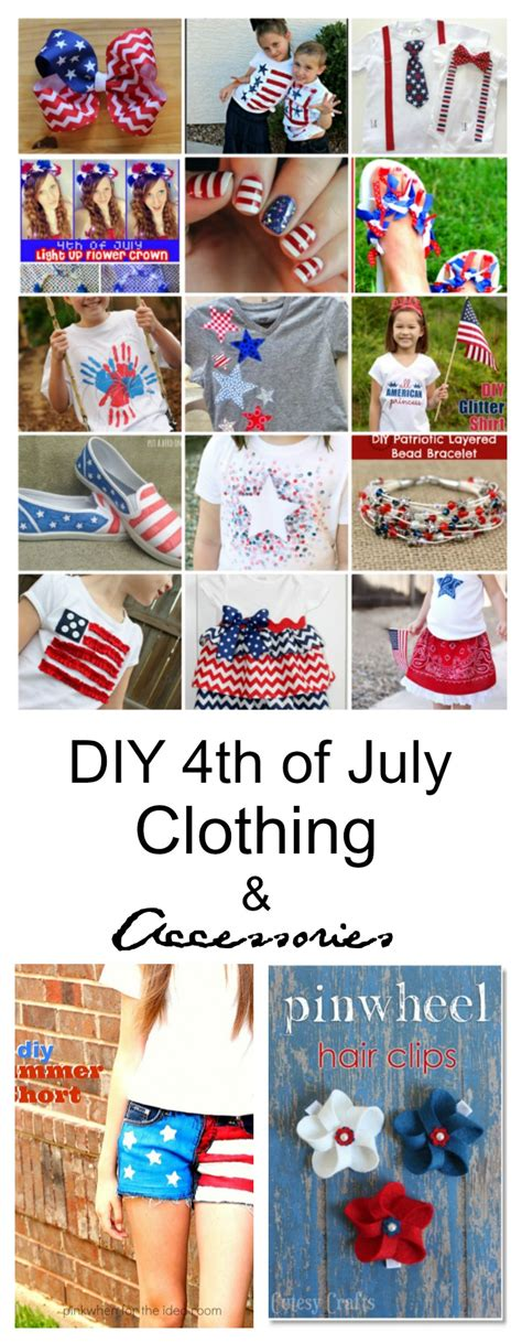 fourth of july diy diy 4th of july clothing and accessories the idea room