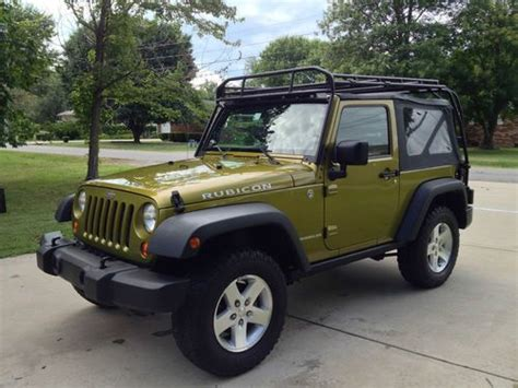 Rubicon Roof Rack by Sell Used 2007 Jeep Wrangler Rubicon 2dr Soft Top