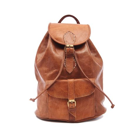 Handmade Leather Backpacks - handmade leather backpack by ismad